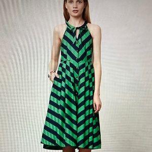 Like New Striped Anthropologie Summer Dress - 6